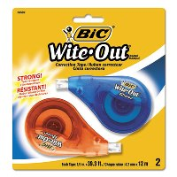 White Out & Correction Tape