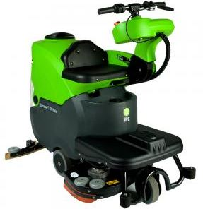 "EAGLE 28"" AUTO SCRUBBER W/ON-BOARD CHARGER, BATTERIES"