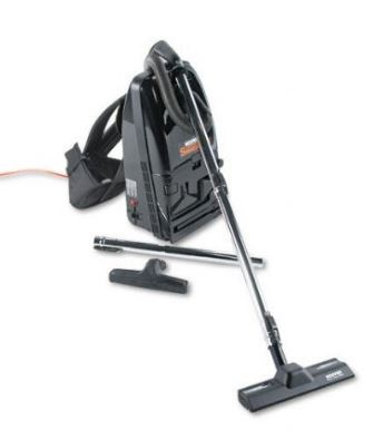 HOOVER SHOULDER VACUUM, W/ATTACHMENTS
