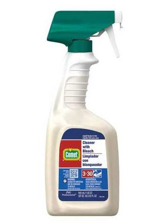 COMET CLEANER W/BLEACH, 8/32 OZ. TRIGGERS PER CS