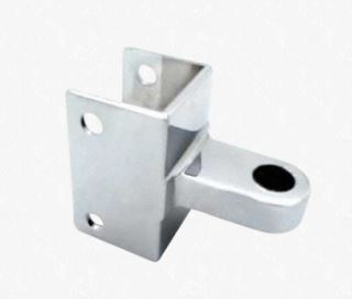 TOP DOOR HINGE BRACKET, CHROME PLATED (ACCURATE)