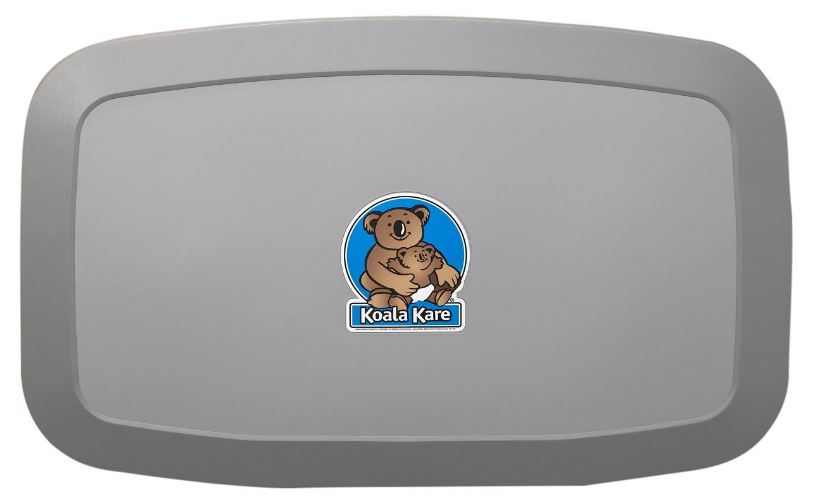 KOALA KARE HORIZONTAL BABY CHANGING STATION, GREY