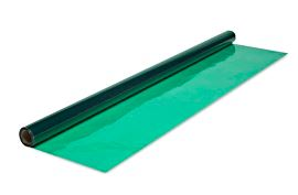 GREEN CELLOPHANE 40FTX100FT (AKA CELLO-POLYPROPYLENE