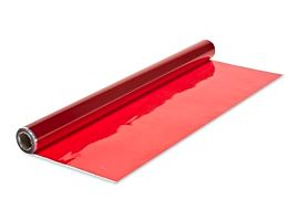 "RED CELLOPHANE 40""X100FT (AKA CELLO-POLYPROPYLENE"