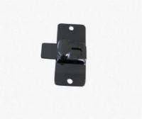 SLIDE LATCH FOR ACCURATE TOILET PARTITION, POLISHED