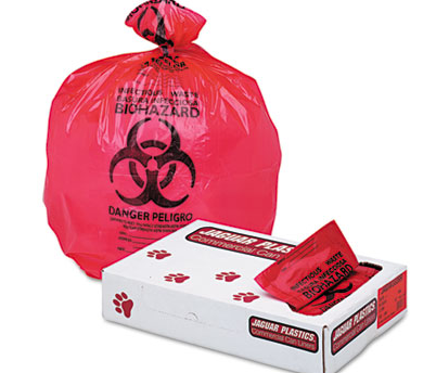 33X39 1.3 MIL RED WASTE LINERS-INFECTIOUS 150/CS