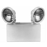 CX SERIES STEEL EMERGENCY LIGHT, 2-HEAD WHITE