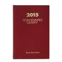 AT-A-GLANCE STANDARD DIARY 30% RECYCLED HARDBOUND DAILY