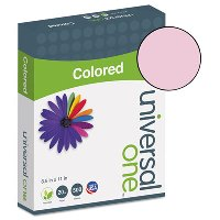 COLORED PAPER, PINK 20LB. 8-1/2X11 - 500 SHEETS PER REAM
