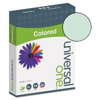 COLORED PAPER, GREEN 20LB. 8-1/2X11 - 500 SHEETS PER REAM
