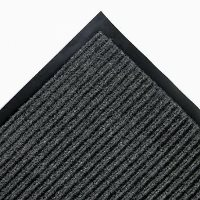 4FT X 52FT CHARCOAL NEEDLERIB MAT, BEVELED ALL SIDES