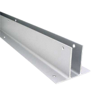 "EXTRUDED ALUMINUM WALL BRACKET, 33"" 2 EAR F/1"""