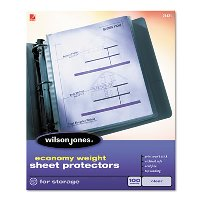 SHEET PROTECTORS, TOP LOADING