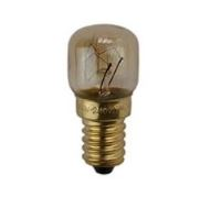 T-22 15W APPLIANCE BULB E14 230-240V, CLEAR (OVEN LAMP) -