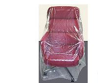 "PLASTIC GUSSETED FURNITURE BAG, FOR CHAIR 76""L X 46""W,"