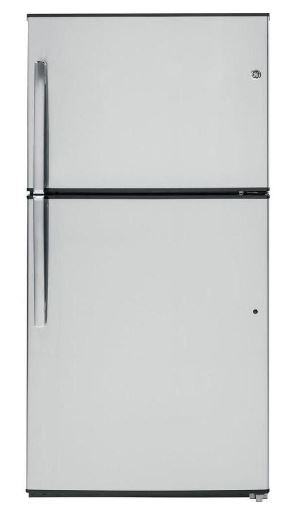 GE REFRIGERATOR 21.2 CUBIC FT. REFRIGERATOR W/TOP