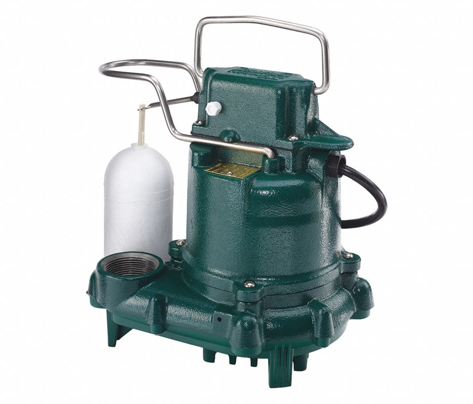 3/10 HP SUBMERSIBLE SUMP PUMP, VERTICAL SWITCH TYPE,
