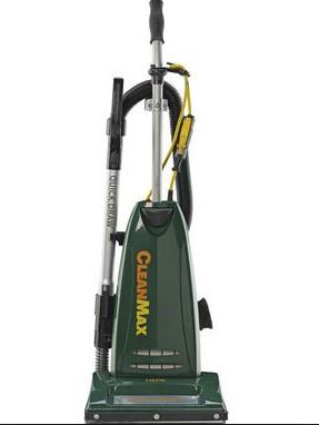 CLEANMAX PRO SERIES UPRIGHT VACUUM W/2-30FT CORD, 10 AMP