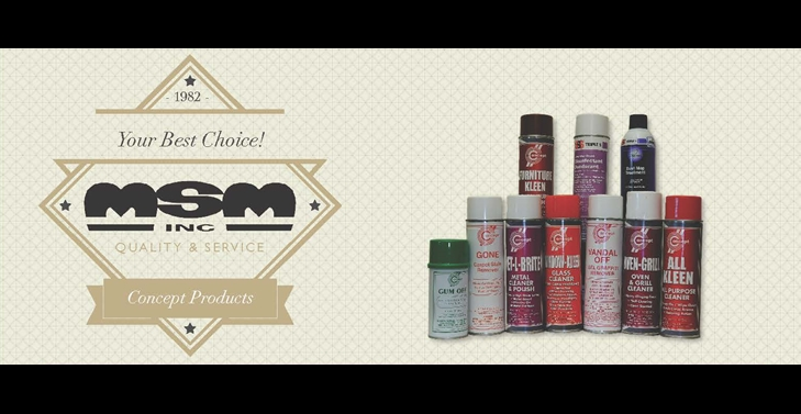 MSM CONCEPT PRODUCTS
